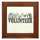 Volunteer Framed Tile