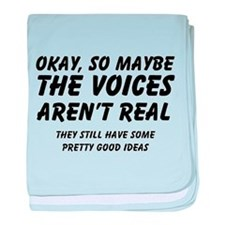 Voices baby blanket