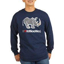 I Love Rhinoceros T