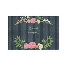 Vintage Roses Rectangle Magnet