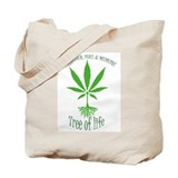 Spiritual hemp Tote Bag