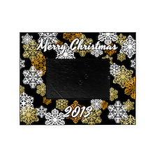 2013 Christmas Snowflake Photo Picture Frameg