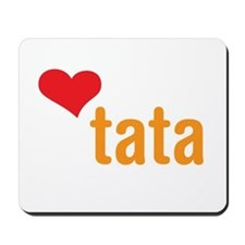volim tata (I love dad) Mousepad