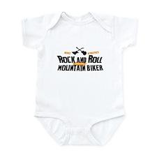 Rock and Roll Mountain Biker Infant Bodysuit