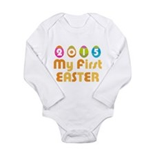 Baby's First Easter Long Sleeve Infant Bodysuit
