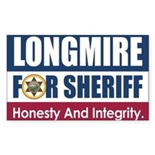 Longmire For Sheriff Decal
