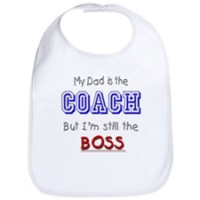 My Dad Is The COACH Bib