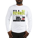 Flyball Height Dog Thing Long Sleeve T-Shirt