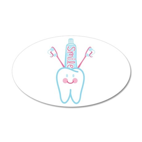 Smile Tooth Wall Decal