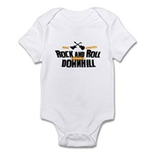 Rock and Roll Downhill Infant Bodysuit
