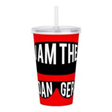 I am the Danger Acrylic Double-wall Tumbler
