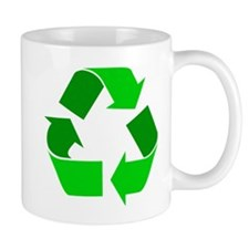 green recycle symbol.png Mugs