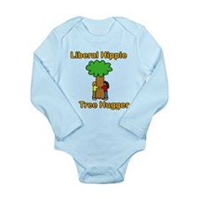 liberal hippie tree hugger Body Suit