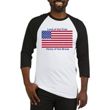 Land of the Free, Home of the Brave Baseball Jerse