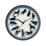 Doberman Pinscher Wall Clock