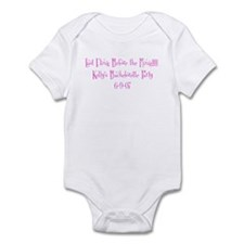 Last Fling Before the Ring!!! Infant Bodysuit