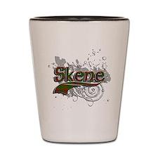 Skene Tartan Grunge Shot Glass