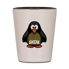 Skene Tartan Penguin Shot Glass
