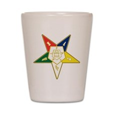 Unique Order of eastern star Shot Glass