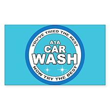 A1 Car Wash Bumper Stickers