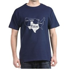 Texas Not Texas T Shirt T-Shirt