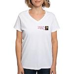 Ignorant & Free Women's V-Neck T-Shirt