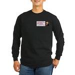 Ignorant & Free Long Sleeve Dark T-Shirt