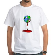 bleeding earth with bandaid.png T-Shirt