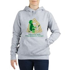 Intensely Irish Light Women's Hooded Sweatshirt