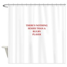 rugby Shower Curtain