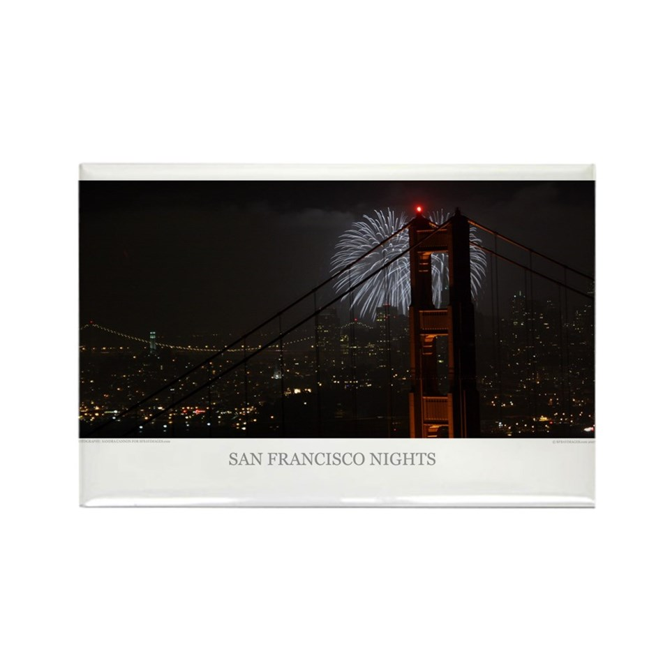 Golden Gate Bridge Fireworks T shirts + Gifts  San Francisco