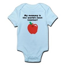 My Mommy Is The Words Best Teacher Body Suit