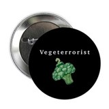 Vegeterrorist Button