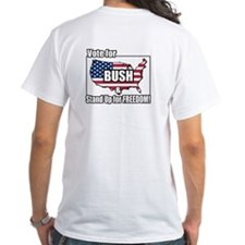 Vote BUSH & Stand Up for FREEDOM Shirt