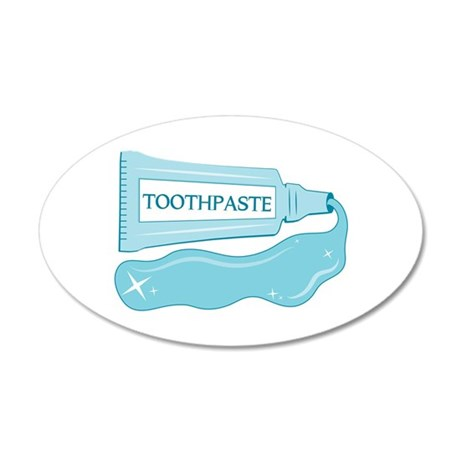 Sparkle Toothpaste Wall Decal