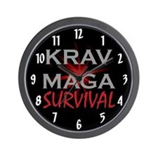 Krav Maga Wall Clock
