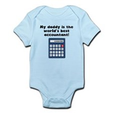 My Daddy Is The Words Best Accountant Body Suit