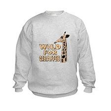 WILD FOR GIRAFEES Sweatshirt