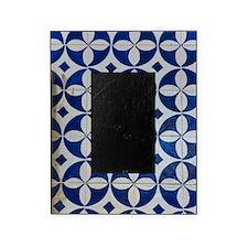 Azulejo azul Picture Frame