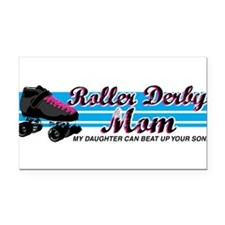 Funny Girls rule Rectangle Car Magnet