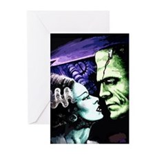Monsters in Love Bride & Greeting Cards (Pk of 20)