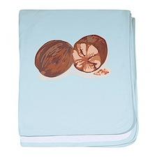 Nutmeg baby blanket