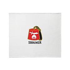 Shriner Fez Throw Blanket