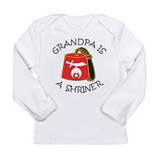 My Grandpa Is A Shriner Long Sleeve Infant T-Shirt