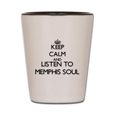 Cool Memphis radio Shot Glass