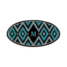 Ikat Pattern Patches