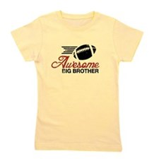 Unique Worlds coolest big brother Girl's Tee
