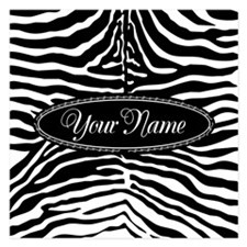Editable zebra Invitations