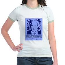 Politics of Yesteryear Ringer T-shirt