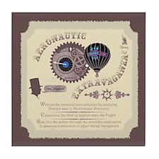 Cryptonaut Aeronautic Extravaganza Tile Coaster